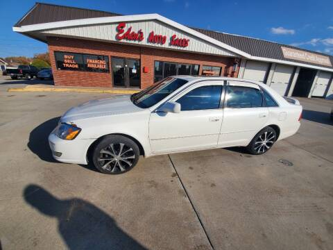 2001 Toyota Avalon for sale at Eden's Auto Sales in Valley Center KS
