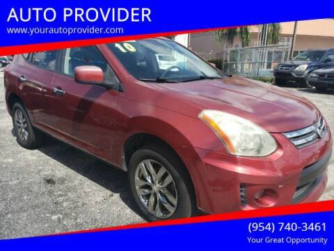 2010 Nissan Rogue for sale at AUTO PROVIDER in Fort Lauderdale FL