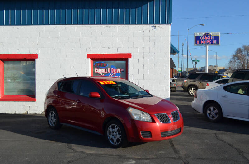 2010 Pontiac Vibe for sale at CARGILL U DRIVE USED CARS in Twin Falls ID