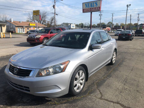 2008 Honda Accord for sale at Neals Auto Sales in Louisville KY