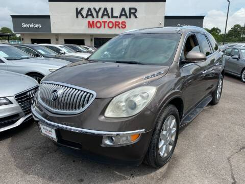 2011 Buick Enclave for sale at KAYALAR MOTORS in Houston TX