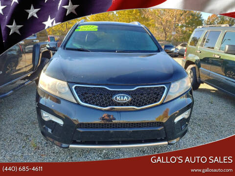 2011 Kia Sorento for sale at Gallo's Auto Sales in North Bloomfield OH