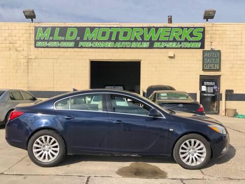 2011 Buick Regal for sale at MLD Motorwerks Pre-Owned Auto Sales - MLD Motorwerks, LLC in Eastpointe MI