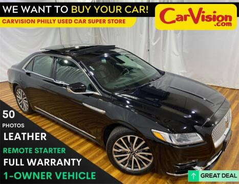 2019 Lincoln Continental for sale at Car Vision Mitsubishi Norristown - Car Vision Philly Used Car SuperStore in Philadelphia PA