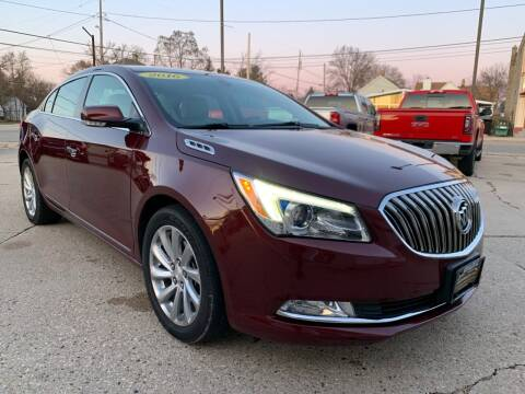 2016 Buick LaCrosse for sale at Auto Gallery LLC in Burlington WI