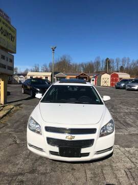 2011 Chevrolet Malibu for sale at Country Auto Sales Inc. in Bristol VA