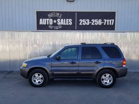2006 Ford Escape for sale at Austin's Auto Sales in Edgewood WA
