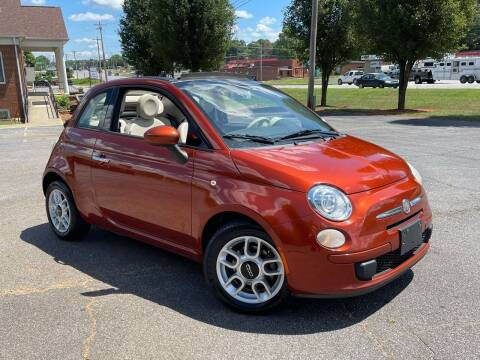 2012 FIAT 500c for sale at Mike's Wholesale Cars in Newton NC