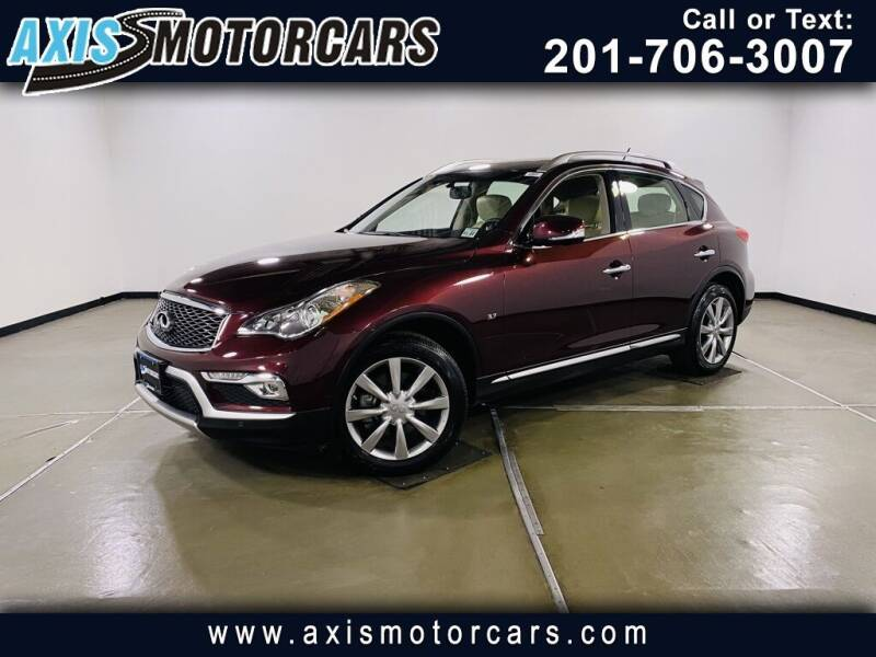 2017 Infiniti QX50 for sale in Jersey City, NJ