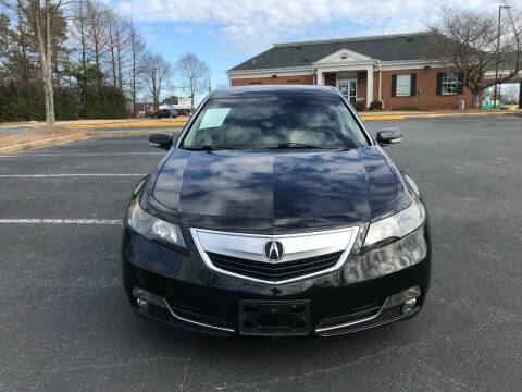 2012 Acura TL for sale at SMZ Auto Import in Roswell GA