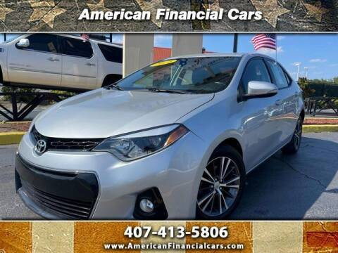2014 Toyota Corolla for sale at American Financial Cars in Orlando FL