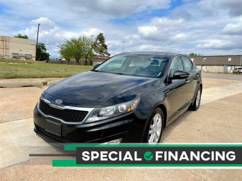 2012 Kia Optima for sale at Automay Car Sales in Oklahoma City OK