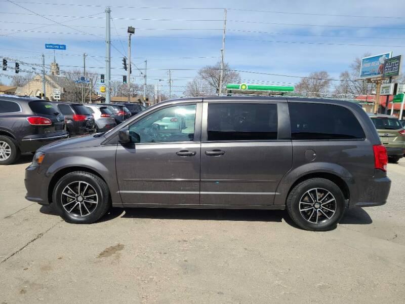 2015 Dodge Grand Caravan for sale at Bob Boruff Auto Sales in Kokomo IN