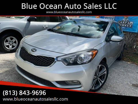 2016 Kia Forte5 for sale at Blue Ocean Auto Sales LLC in Tampa FL