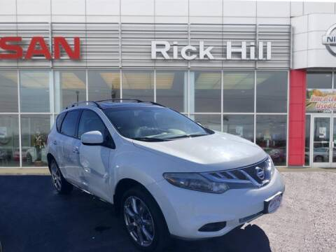 2014 Nissan Murano for sale at Rick Hill Auto Credit in Dyersburg TN