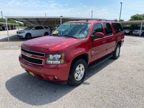 2014 Chevrolet Suburban for sale at Bostick's Auto & Truck Sales LLC in Brownwood TX
