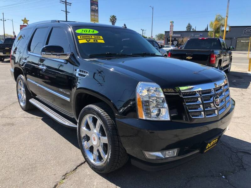2014 Cadillac Escalade for sale at BEST DEAL MOTORS  INC. CARS AND TRUCKS FOR SALE in Sun Valley CA