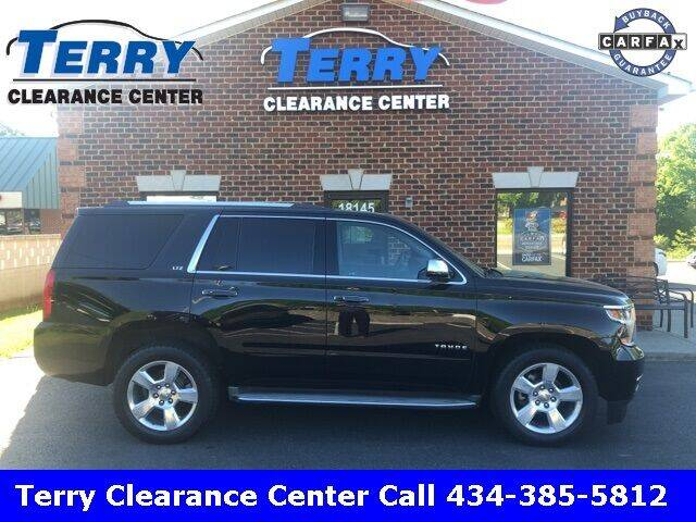 2016 Chevrolet Tahoe for sale at Terry Clearance Center in Lynchburg VA