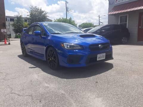 2018 Subaru WRX for sale at A&R MOTORS in Portsmouth VA