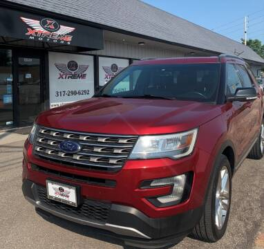 2016 Ford Explorer for sale at Xtreme Motors Inc. in Indianapolis IN