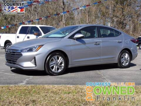 2020 Hyundai Elantra for sale at Courtesy Toyota & Ford in Morgan City LA