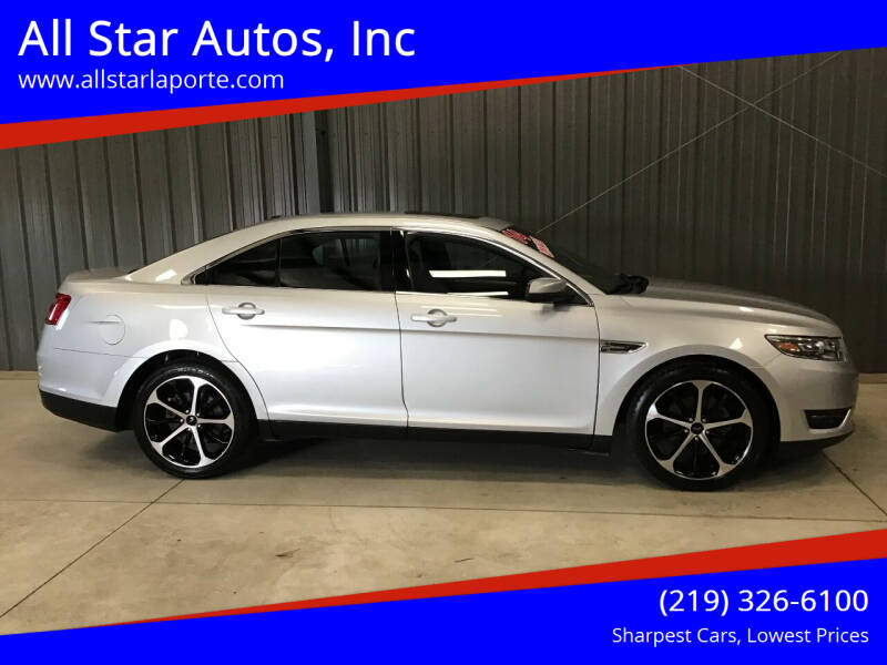2014 Ford Taurus for sale at All Star Autos, Inc in La Porte IN