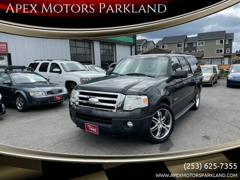 2007 Ford Expedition EL for sale at Apex Motors Parkland in Tacoma WA