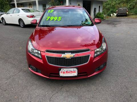 2012 Chevrolet Cruze for sale at 22nd ST Motors in Quakertown PA