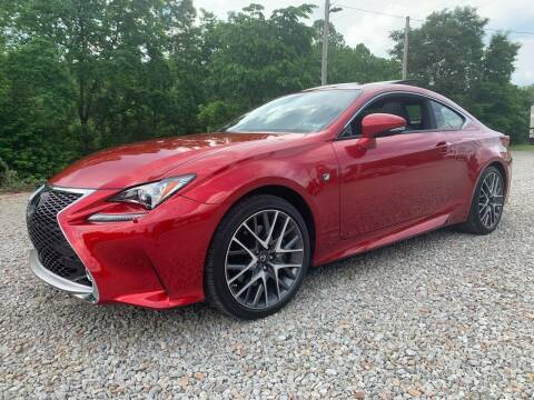 2016 Lexus RC 350 for sale at Reds Garage Sales Service Inc in Bentleyville PA