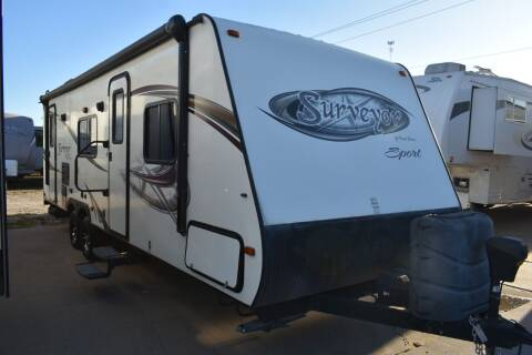 2013 Forest River Surveyor SP275 for sale at Buy Here Pay Here RV in Burleson TX