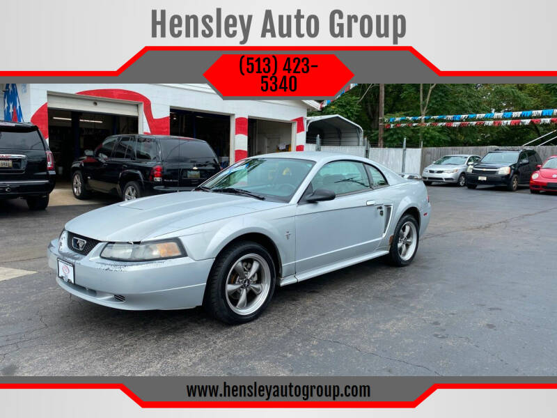 2003 Ford Mustang for sale at Hensley Auto Group in Middletown OH