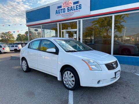 2008 Nissan Sentra for sale at ELDER AUTO SALES LLC in Coeur D'Alene ID