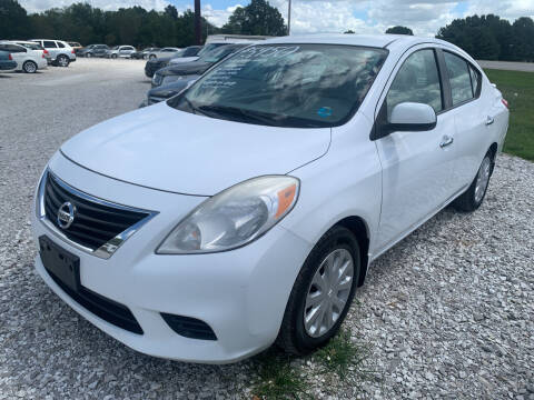 2013 Nissan Versa for sale at Champion Motorcars in Springdale AR