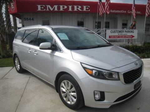 2015 Kia Sedona for sale at Empire Automotive Group Inc. in Orlando FL