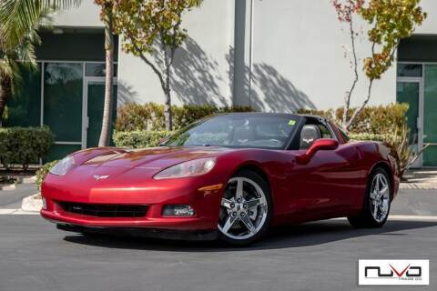 2008 Chevrolet Corvette for sale at Nuvo Trade in Newport Beach CA