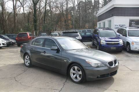 2005 BMW 5 Series for sale at GTI Auto Exchange in Durham NC