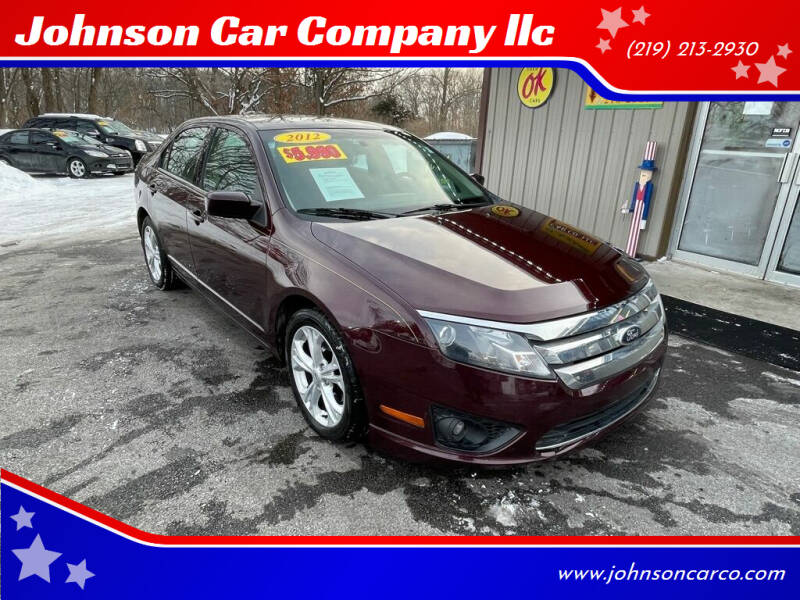 2012 Ford Fusion for sale at Johnson Car Company llc in Crown Point IN