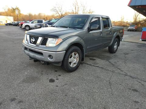 2006 Nissan Frontier for sale at Cruisin' Auto Sales in Madison IN