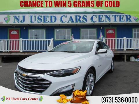 2020 Chevrolet Malibu for sale at New Jersey Used Cars Center in Irvington NJ
