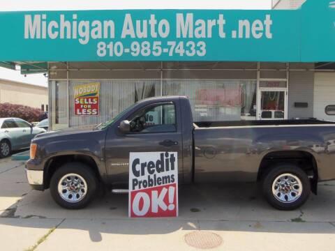2011 GMC Sierra 1500 for sale at Michigan Auto Mart in Port Huron MI