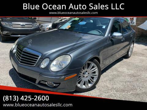 2008 Mercedes-Benz E-Class for sale at Blue Ocean Auto Sales LLC in Tampa FL
