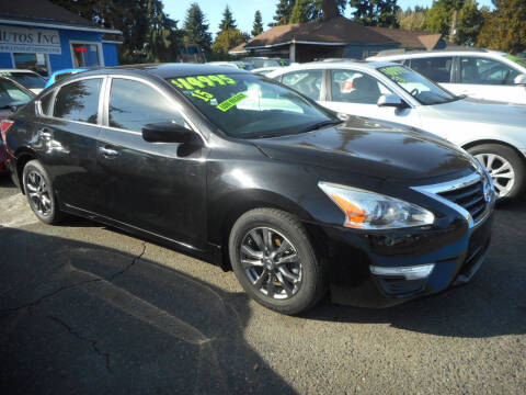 2015 Nissan Altima for sale at Lino's Autos Inc in Vancouver WA