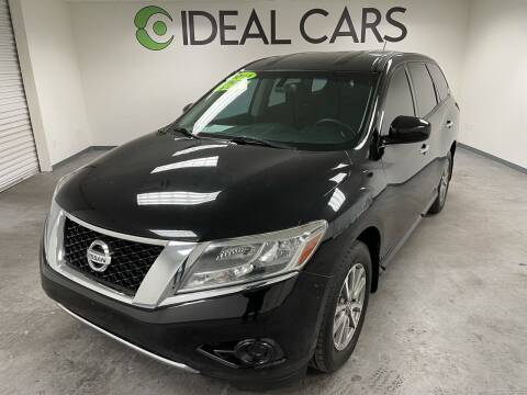 2014 Nissan Pathfinder for sale at Ideal Cars Atlas in Mesa AZ