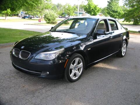 2008 BMW 5 Series for sale at The Car Vault in Holliston MA
