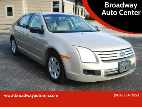 2008 Ford Fusion for sale at Broadway Auto Center in New Ulm MN