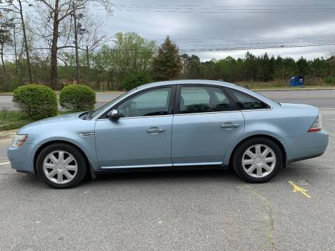 2008 Ford Taurus for sale at CAR STOP INC in Duluth GA