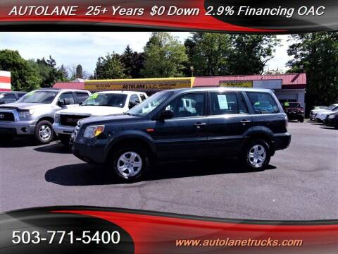 2006 Honda Pilot for sale at Auto Lane in Portland OR