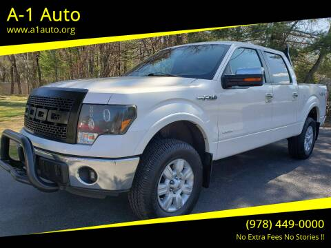 2011 Ford F-150 for sale at A-1 Auto in Pepperell MA