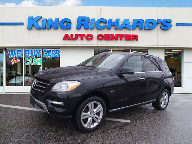 2012 Mercedes-Benz M-Class for sale at KING RICHARDS AUTO CENTER in East Providence RI