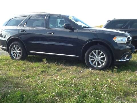 2018 Dodge Durango for sale at Garys Sales & SVC in Caribou ME